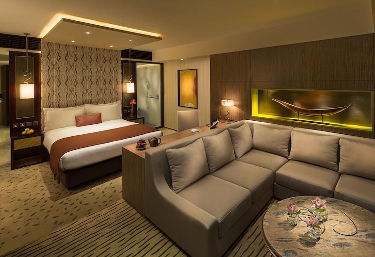Altira Macau, Taipa, Room (Waterfront King), Bilik Tamu