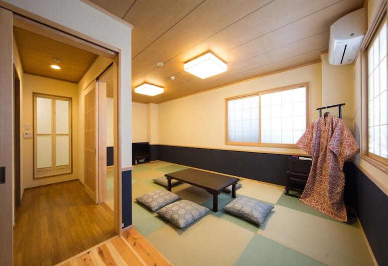 惠比壽旅館, Kyoto, 豪華客房, 非吸煙房 (Japanese-Style), 客廳