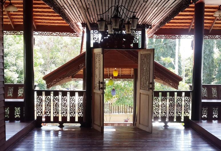 法恩福別墅, 蘇梅島, 陽台
