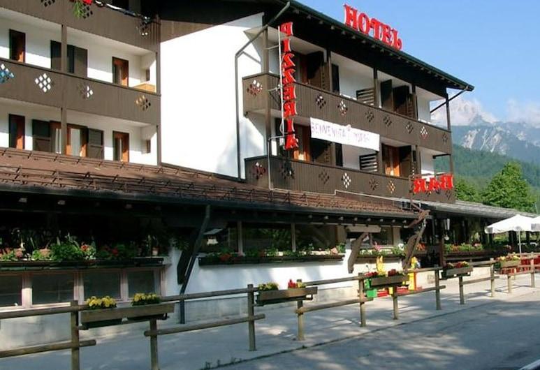 達沃斯飯店, 弗尼迪索普拉, 飯店正面