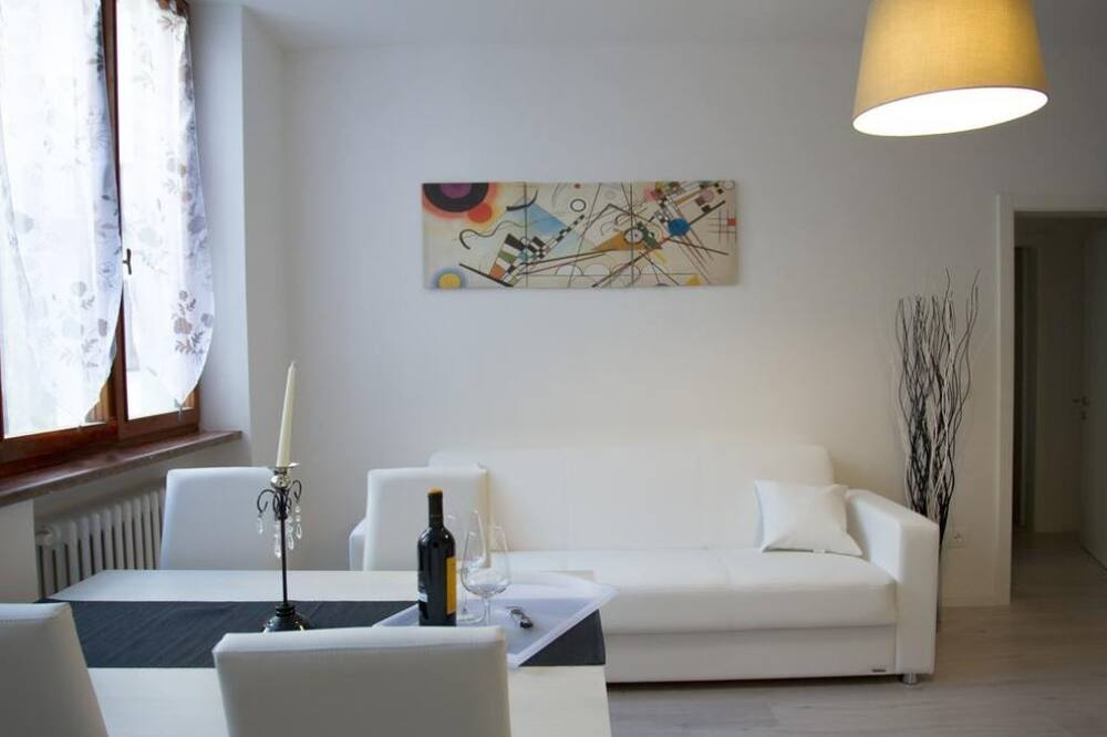 Deluxe-lejlighed - 2 soveværelser - Stue