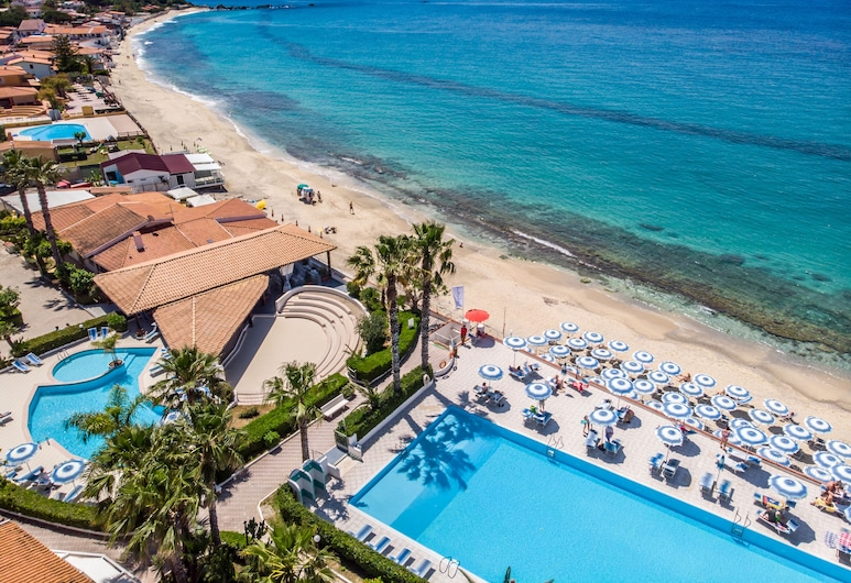 Villaggio Baia d'Ercole, Ricadi, Playa