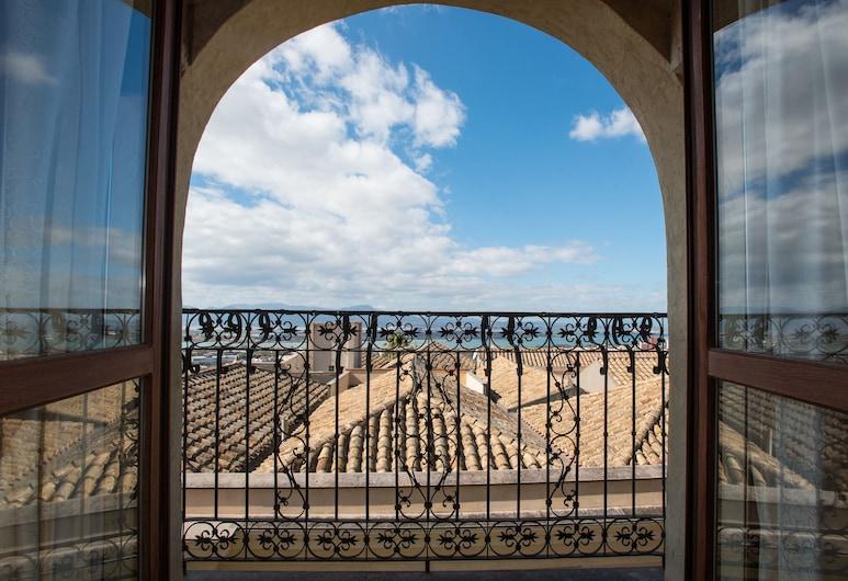 레지덴체 알 카스텔로, 칼리아리, 그랜드 아파트, 침실 1개, 주방, 항구 전망, 객실