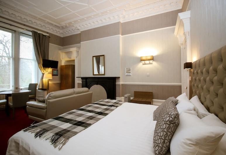 Embassy Apartments, Glasgow, Klasikinio tipo studija (Triple Occupancy), Vaizdas iš kambario