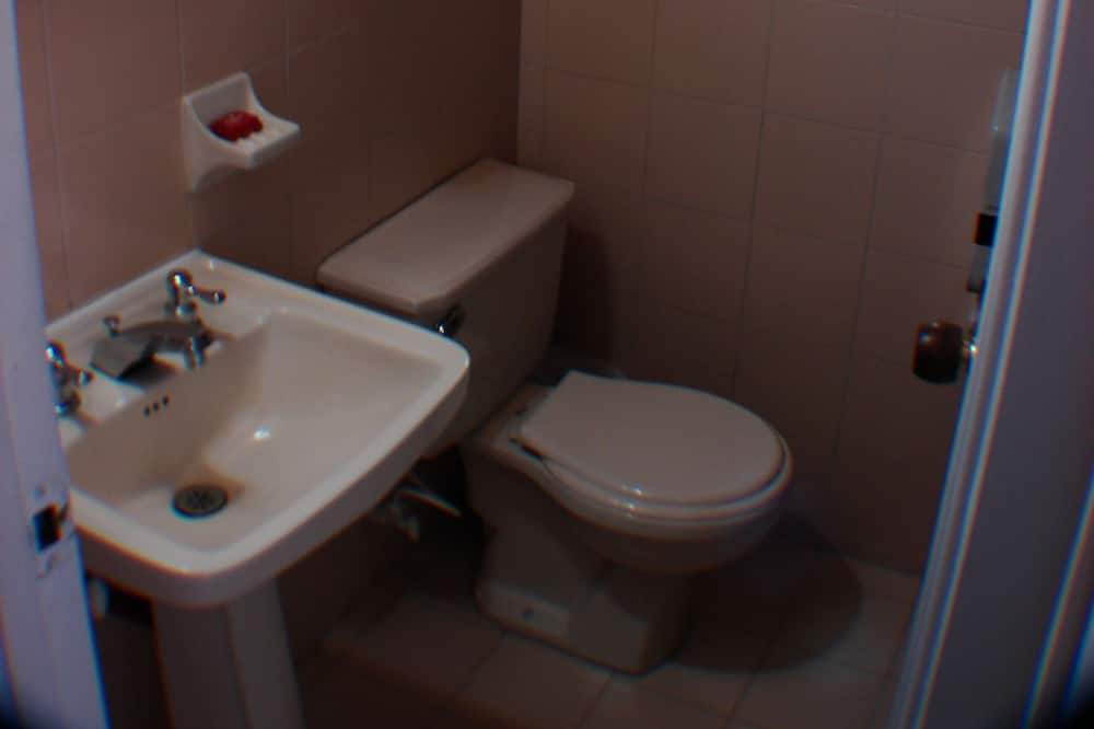 Single Room - Bathroom Sink