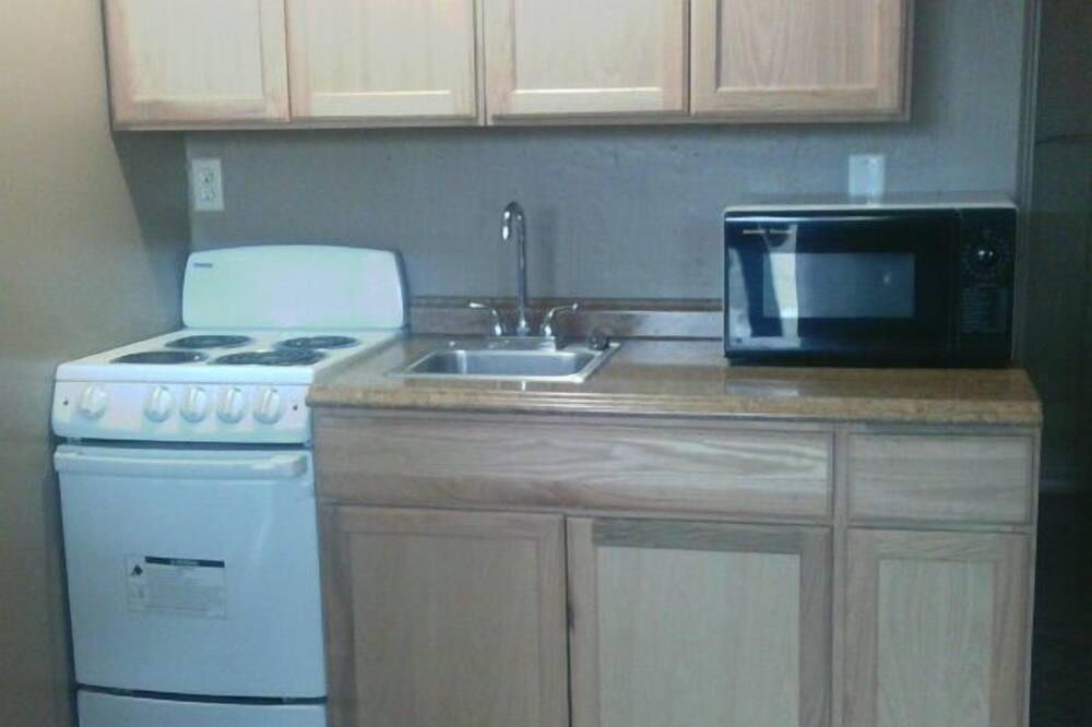 Virtuvė viešbučio kambaryje