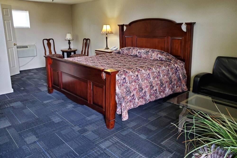 Kambarys, 1 labai didelė dvigulė lova - Svečių kambarys