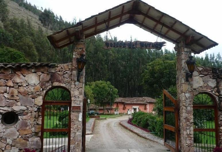 Posada del Puruay, Kachamarka, Įėjimas į viešbutį