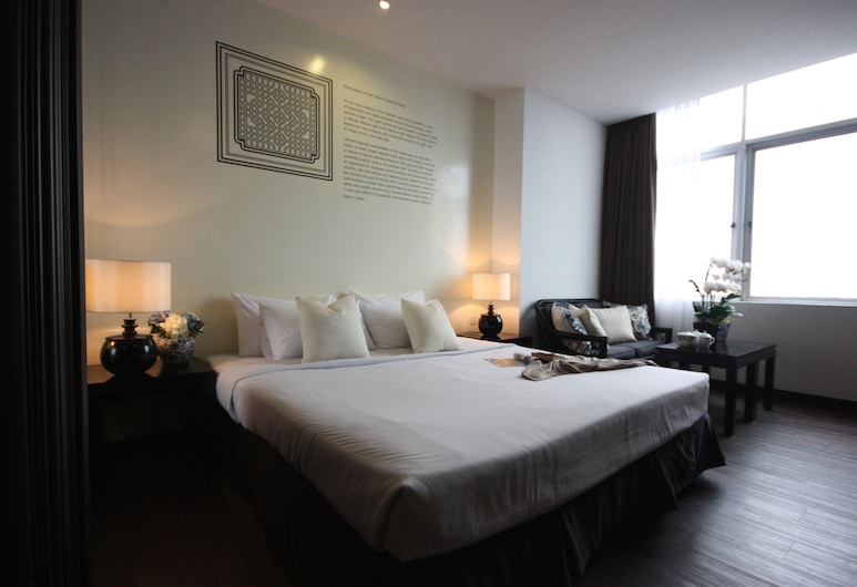 Hotel 19 Penang, George Town, Deluxe Super King, Guest Room