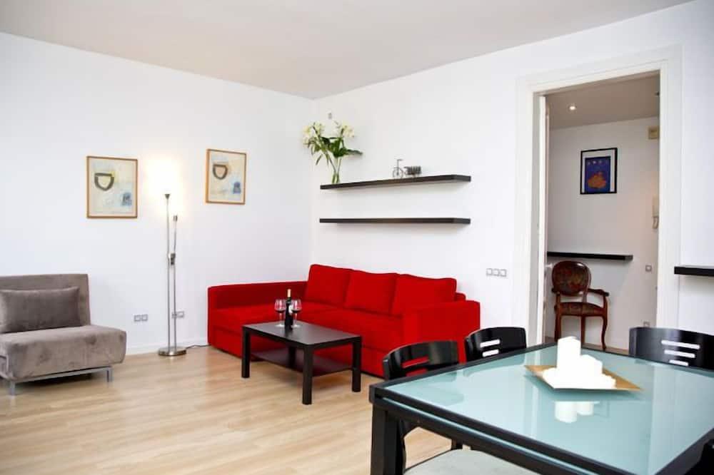 公寓, 2 間臥室, 陽台 - 客廳