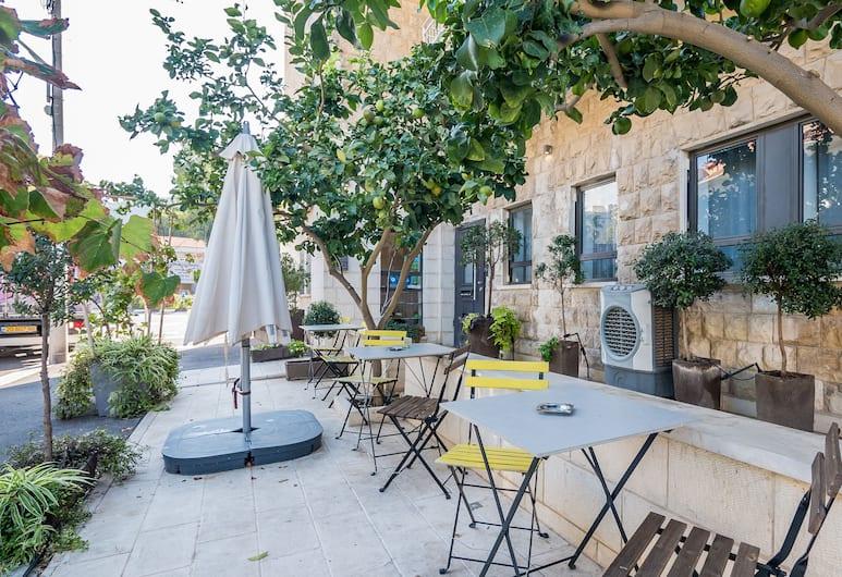 Bat Galim Boutique Hotel, Haifa, Terase/iekšējais pagalms