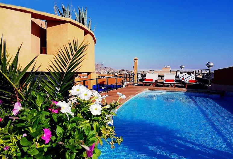時尚賓館, 馬拉喀什, 泳池