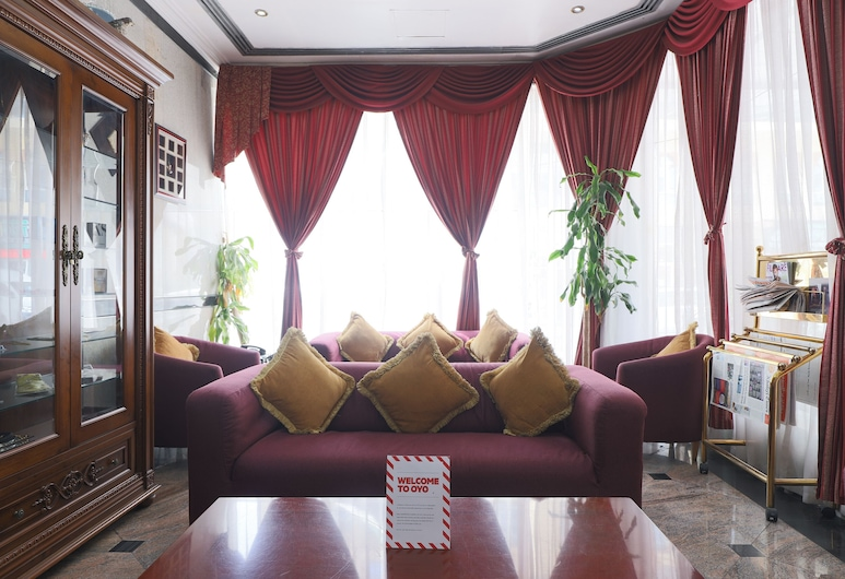 OYO 297 California Hotel, Dubajus, Poilsio zona vestibiulyje