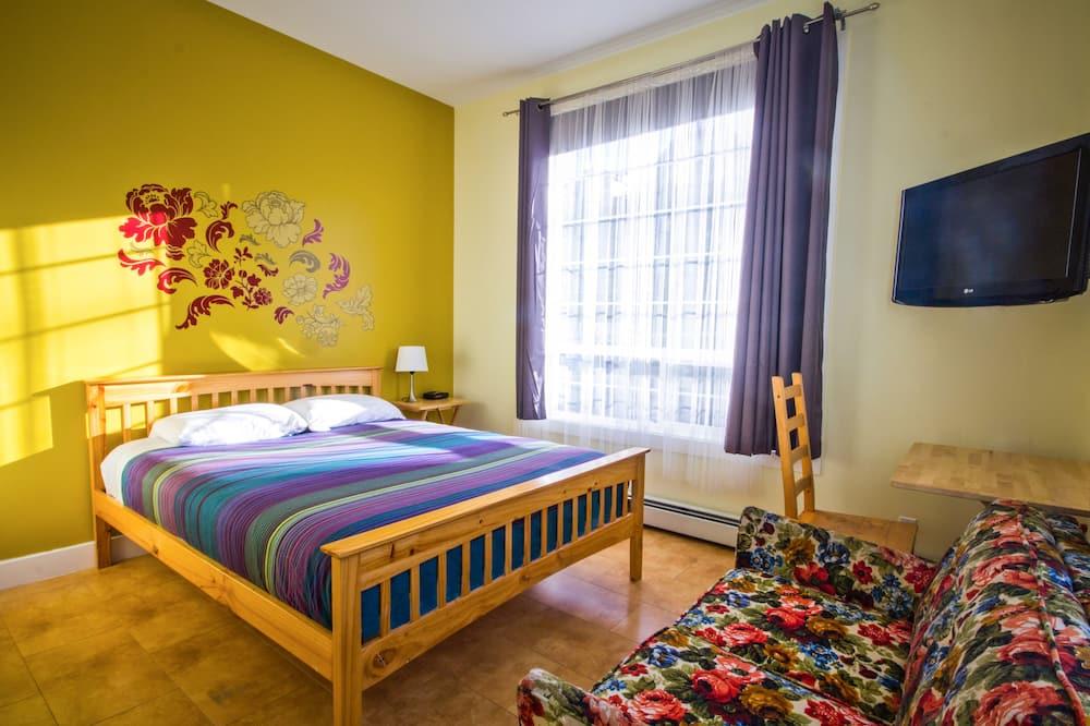 Dvokrevetna soba, 1 queen size krevet, privatna kupaonica - Dnevni boravak