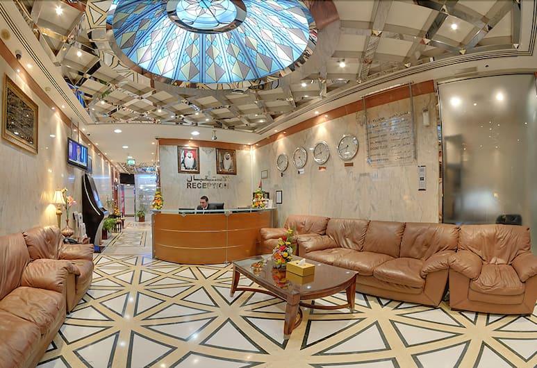 Deira Suites Hotel Apartment, Dubai, Ruang Duduk Lobi
