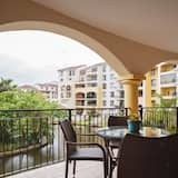 Luxury Apartment, 2 Bedrooms, Kitchen, Canal View (Type 1) - Balcony
