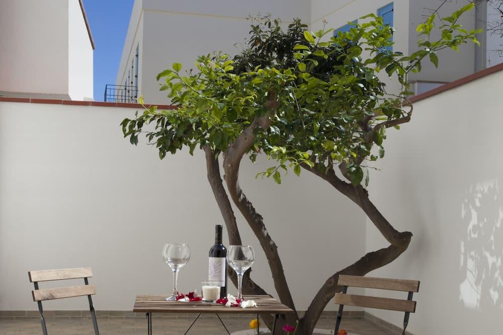 雙人房, 庭院 - 陽台