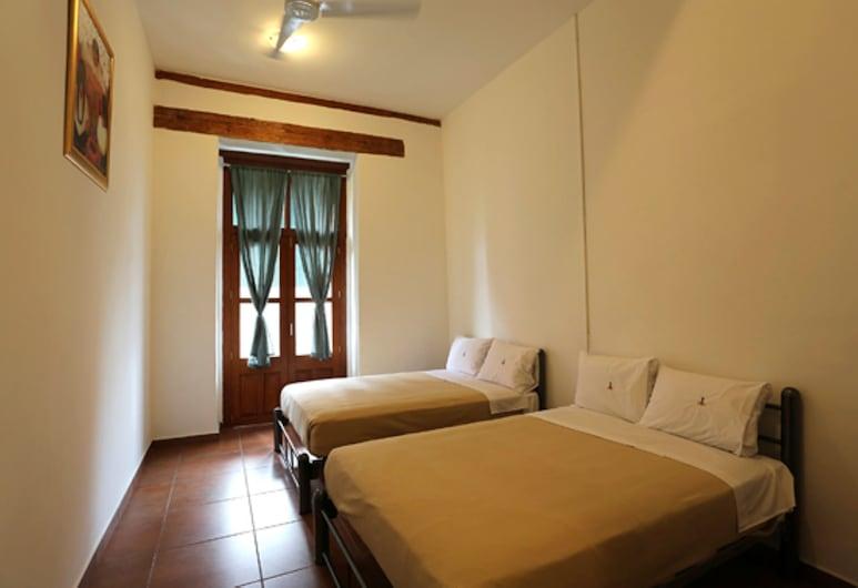 Mexico City Hostel, מקסיקו  סיטי, חדר סטנדרט, 2 מיטות זוגיות, חדר רחצה פרטי, חדר אורחים