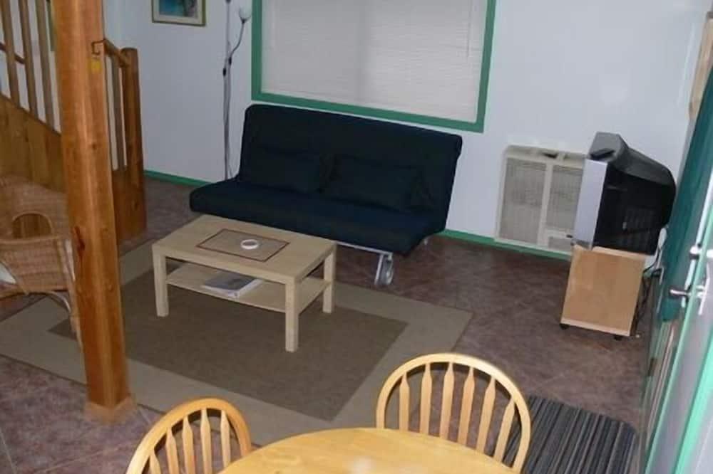 Cabaña, 1 cama de matrimonio con sofá cama, cocina - Zona de estar