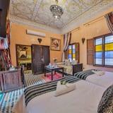 Deluxe-værelse med 2 enkeltsenge - 1 soveværelse - Stue