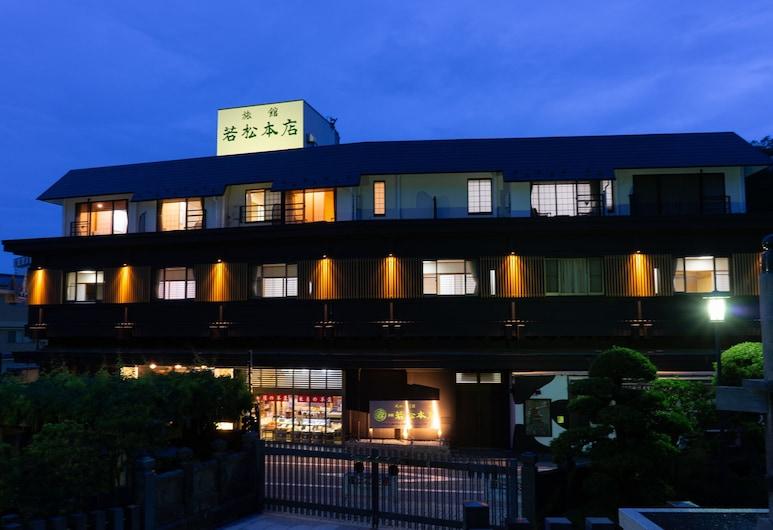 若松本飯店, 成田, 飯店入口 - 夜景
