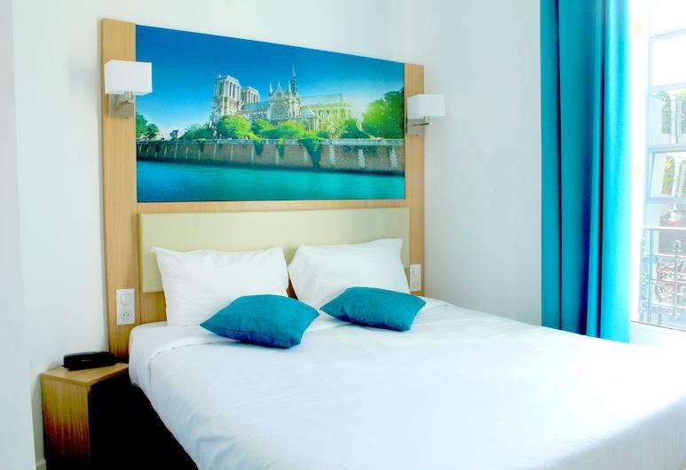 Hotel de Paris, Boulogne-Billancourt, Chambre Double, 1 lit double, Chambre