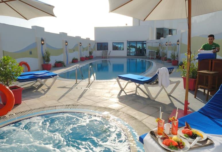 Al Jawhara Gardens Hotel, Dubajus, Baseinas