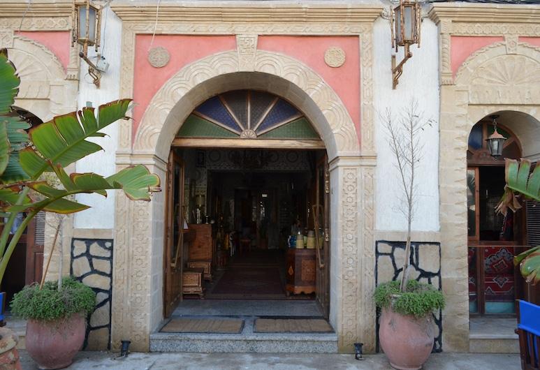 Hotel Sahara, Essaouira, Vchod do hotelu