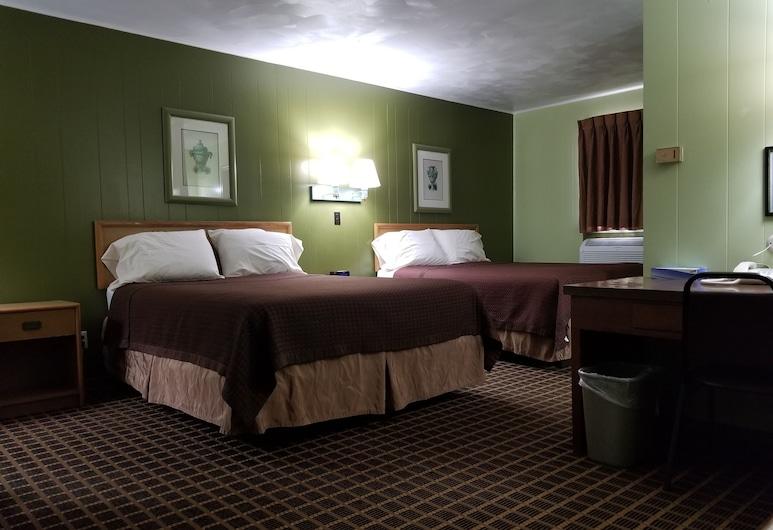Parkview Motel, Hastings, Standard Room, 2 Queen Beds, Guest Room