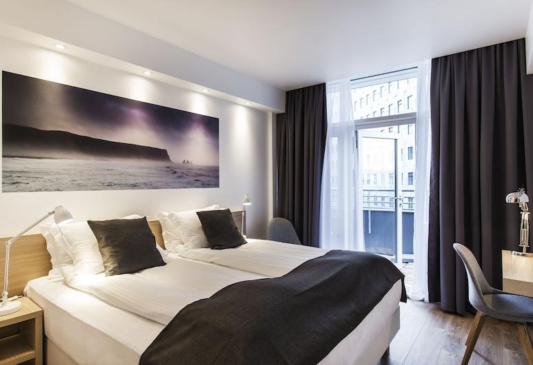 ستورم هوتل باي كيهوتالز, ريكيافيك, غرفة سوبيريور مزدوجة أو بسريرين منفصلين - بشرفة, غرفة نزلاء