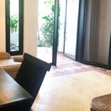 Camera Deluxe con letto matrimoniale o 2 letti singoli, 1 camera da letto - Area soggiorno