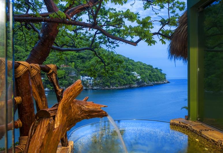 Villa Lala Hotel Boutique - Adults Only , Puerto Vallarta, Elite-Baumhaus, 1King-Bett, Meerblick, Turm, Strand-/Meerblick