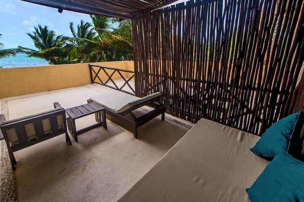 Junior-Suite, Balkon, Meerblick - Terrasse/Patio