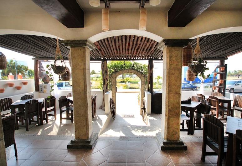 Posada Pachamama Mahahual, Mahahual, Tempat Makan Luar Ruangan