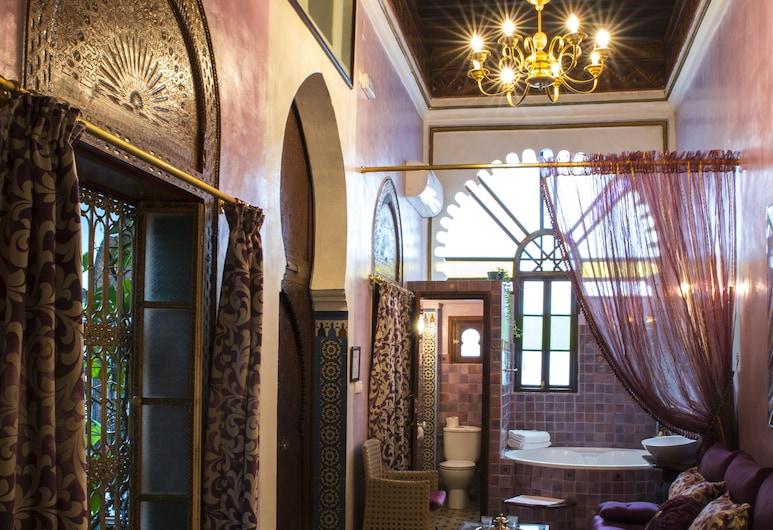 Riad El Reducto, Tetouan, Dvojlôžková izba (Baghdad), Hosťovská izba