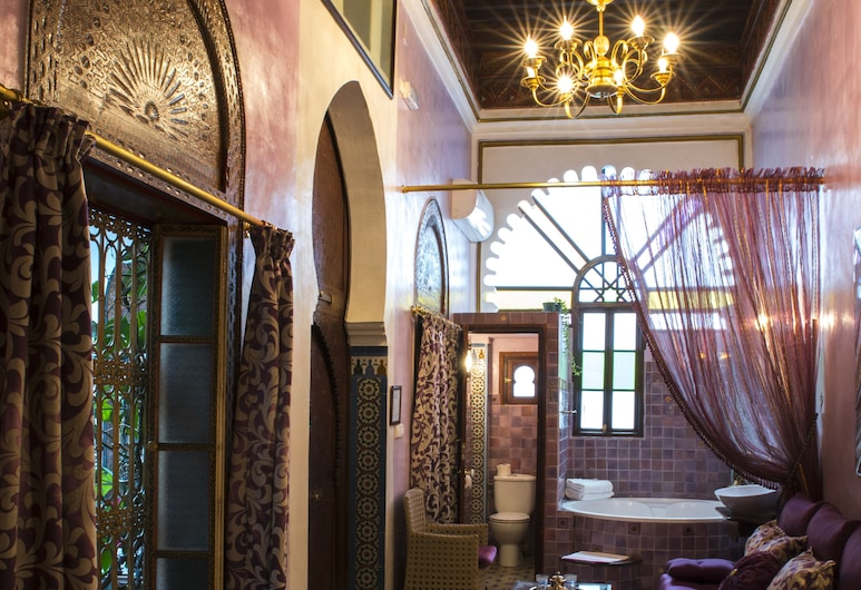 Riad El Reducto, Tetouan, Double Room (Baghdad), Guest Room