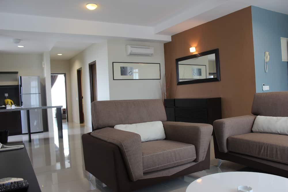 3 Bedrooms Family Apartment (Premier) - Coin séjour