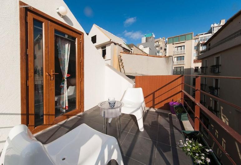East'n'cool, Istanbul, Studio tiện nghi đơn giản, 1 giường đôi, Sân thượng/sân hiên