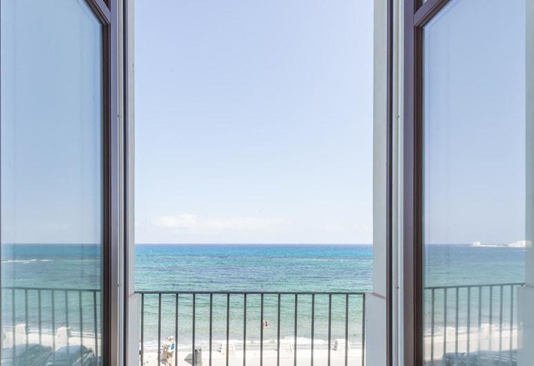 Central Gallery Rooms, Trapani, Habitación, vista al mar, Balcón