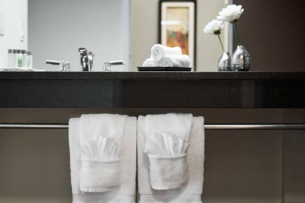Номер преміум-класу, 1 ліжко «кінг-сайз», з видом на річку - Вигоди у ванній кімнаті