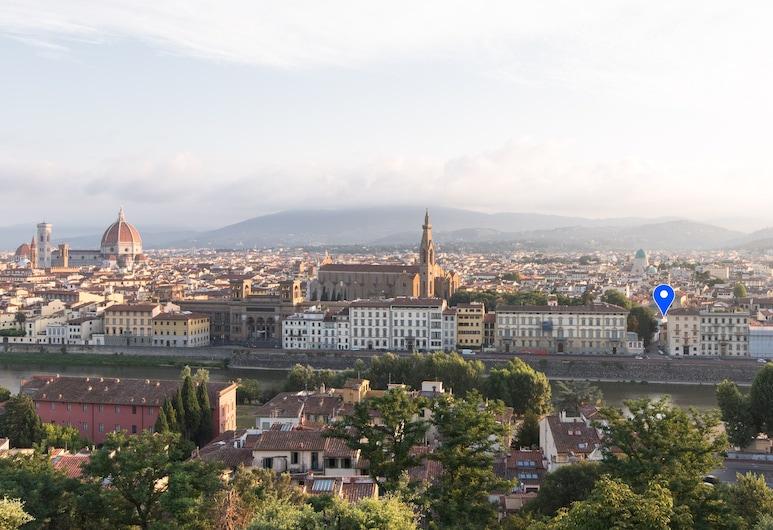 Residenza Marchesi Pontenani, Florence, Bagian depan properti