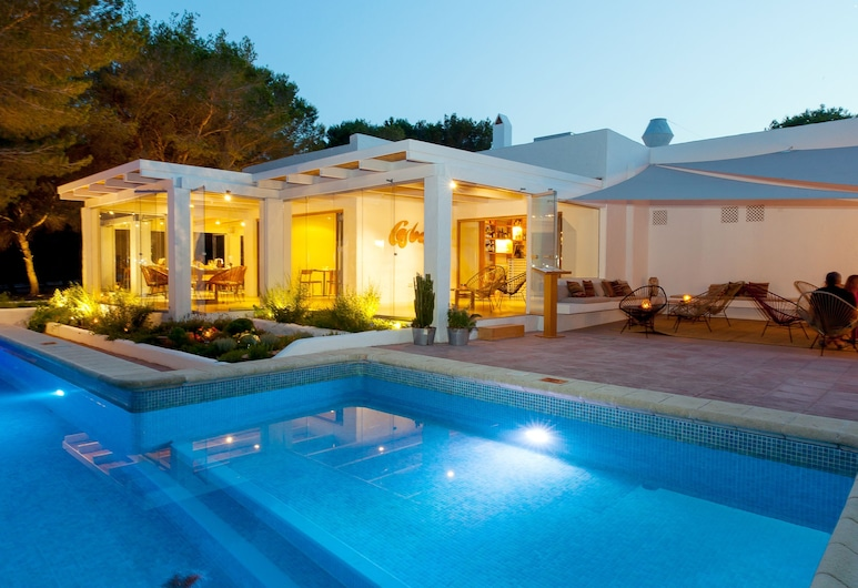 Hostal Casbah, Formentera, Piscina Exterior