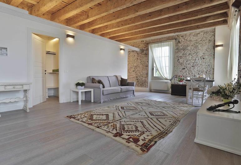Residence Corte San Carlo, Lazise, Superior Σουίτα, 1 Υπνοδωμάτιο, Περιοχή καθιστικού