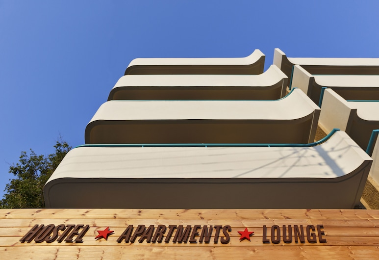 Stay - Hostel, Apartments, Lounge, Rodos, Hotellin sisäänkäynti