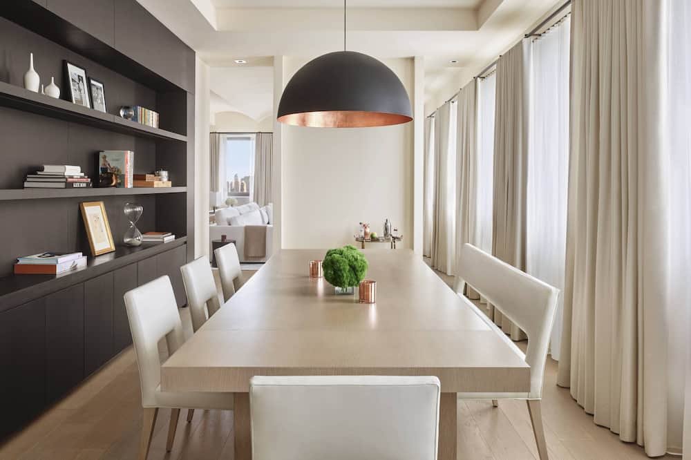 ซิตี้เพนท์เฮาส์ - บริการอาหารในห้องพัก