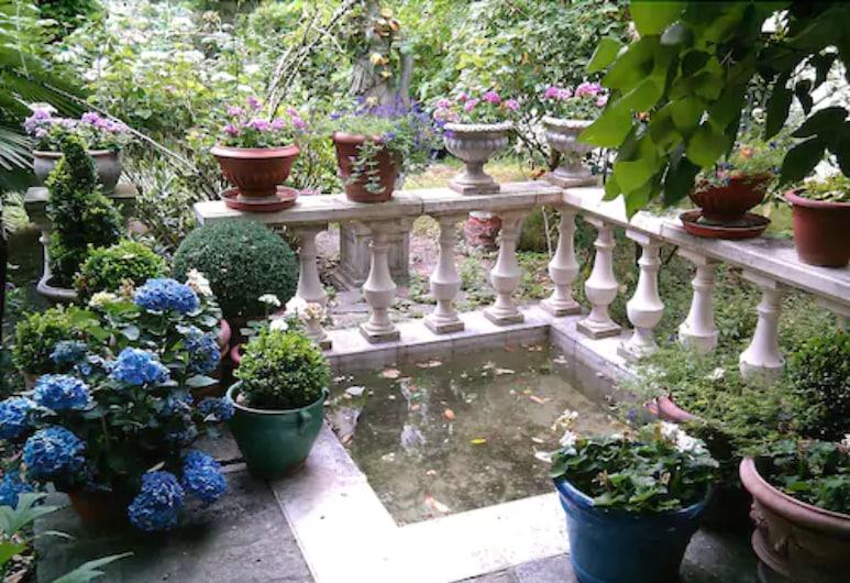 內勒酒店, 巴黎, 花園