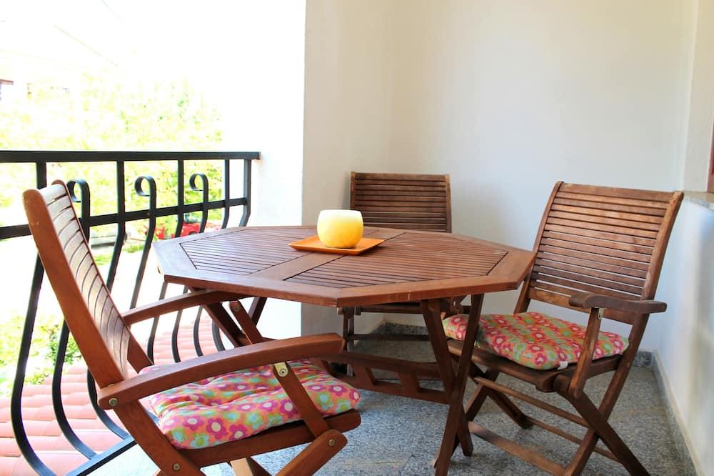 Улучшенная студия-люкс, 1 спальня, балкон, вид на сад - Балкон