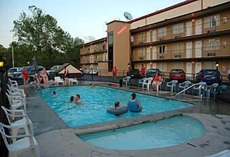 Tennessee Mountain Lodge, Pigeon Forge, Außenpool