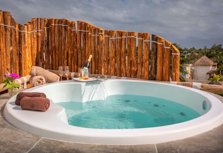 Beachfront Hotel La Palapa - Adults Only, Isla Holbox, Außen-Whirlpool