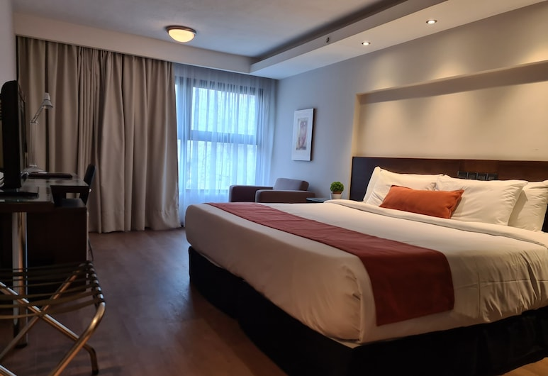 Crystal Tower Hotel, Montevideo, Superior Double Room, Guest Room